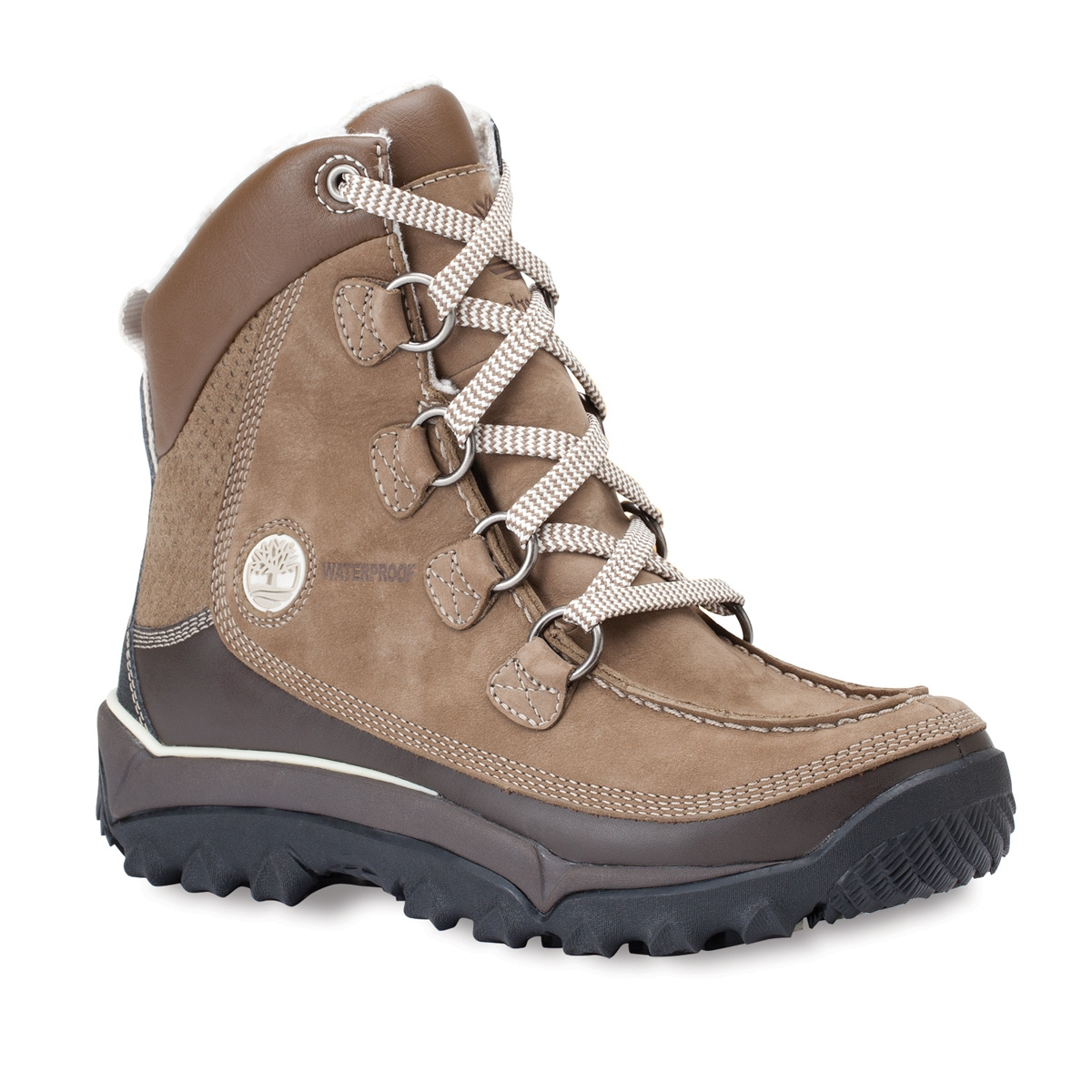 9d1521cb1b3 Timberland Rime Ridge HP WP Premium Walking Boot (Women's) - Taupe