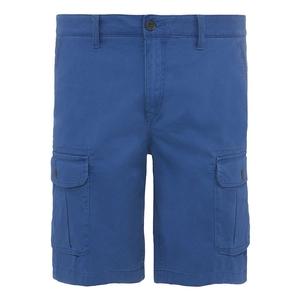 Image of Timberland Webster Lake Stretch Cargo Shorts (Men's) - Twilight Blue