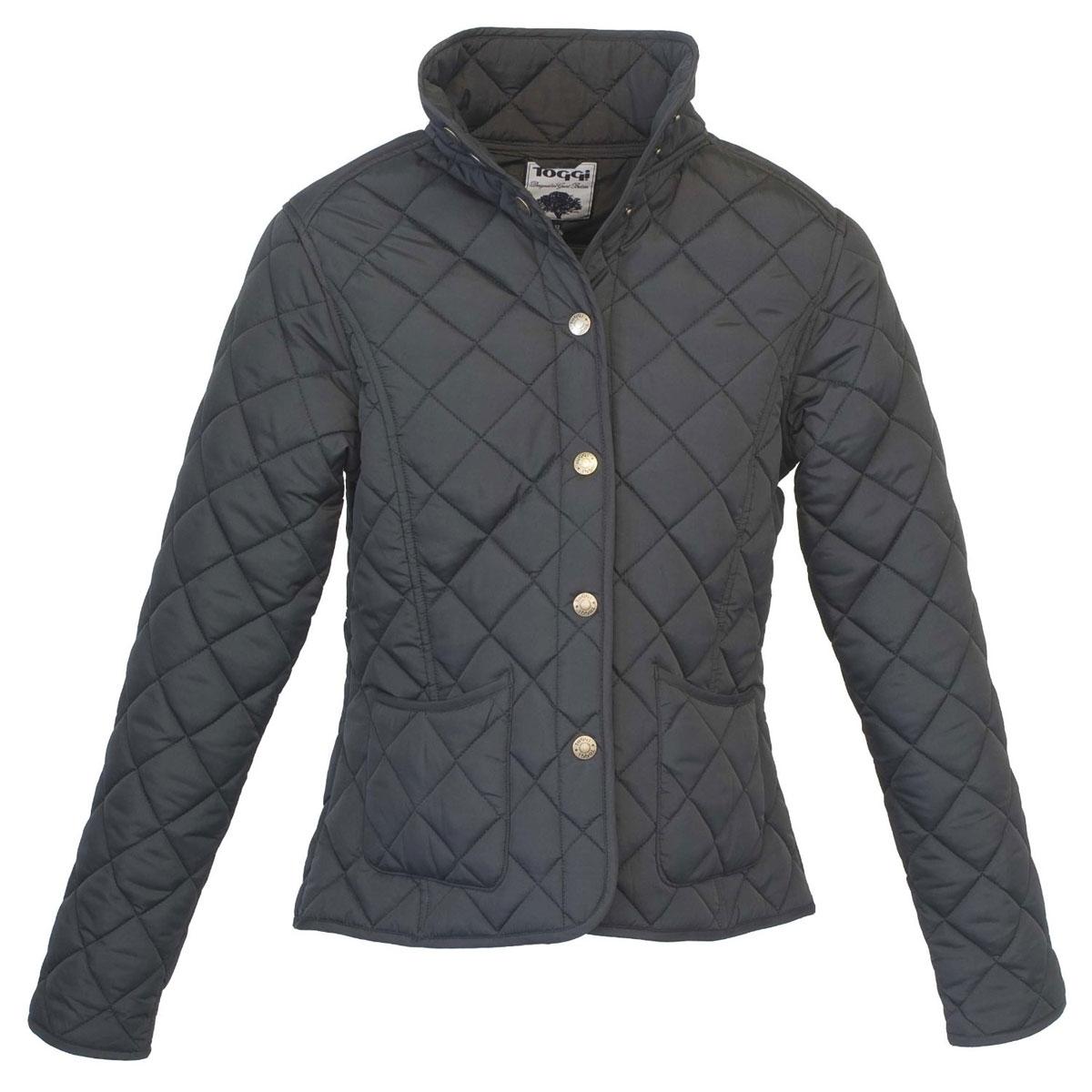 60b5d2b9f63c Toggi Sandown Ladies Diamond Quilted Jacket - Black | Uttings.co.uk