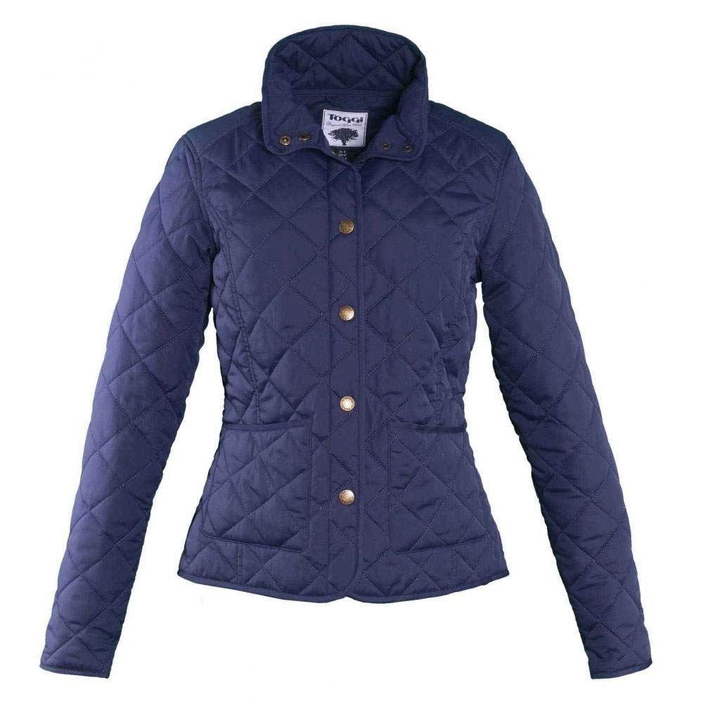 Toggi Sandown Ladies Diamond Quilted Jacket Navy Uttings