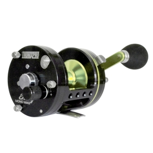 Image of Tronix Envoy Tournament Mono Mag Multiplier Reel - Left Hand Wind
