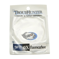Trout Hunter Fluorocarbon Leader - 9ft