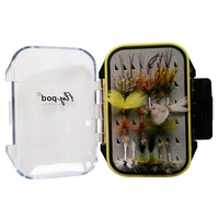 Turrall Flypod Fly Collection - Mayflies x 18