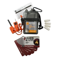 Ultimate Survival Learn & Live Fire Starting Kit
