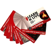 Ultimate Survival Survival Fire Building Card