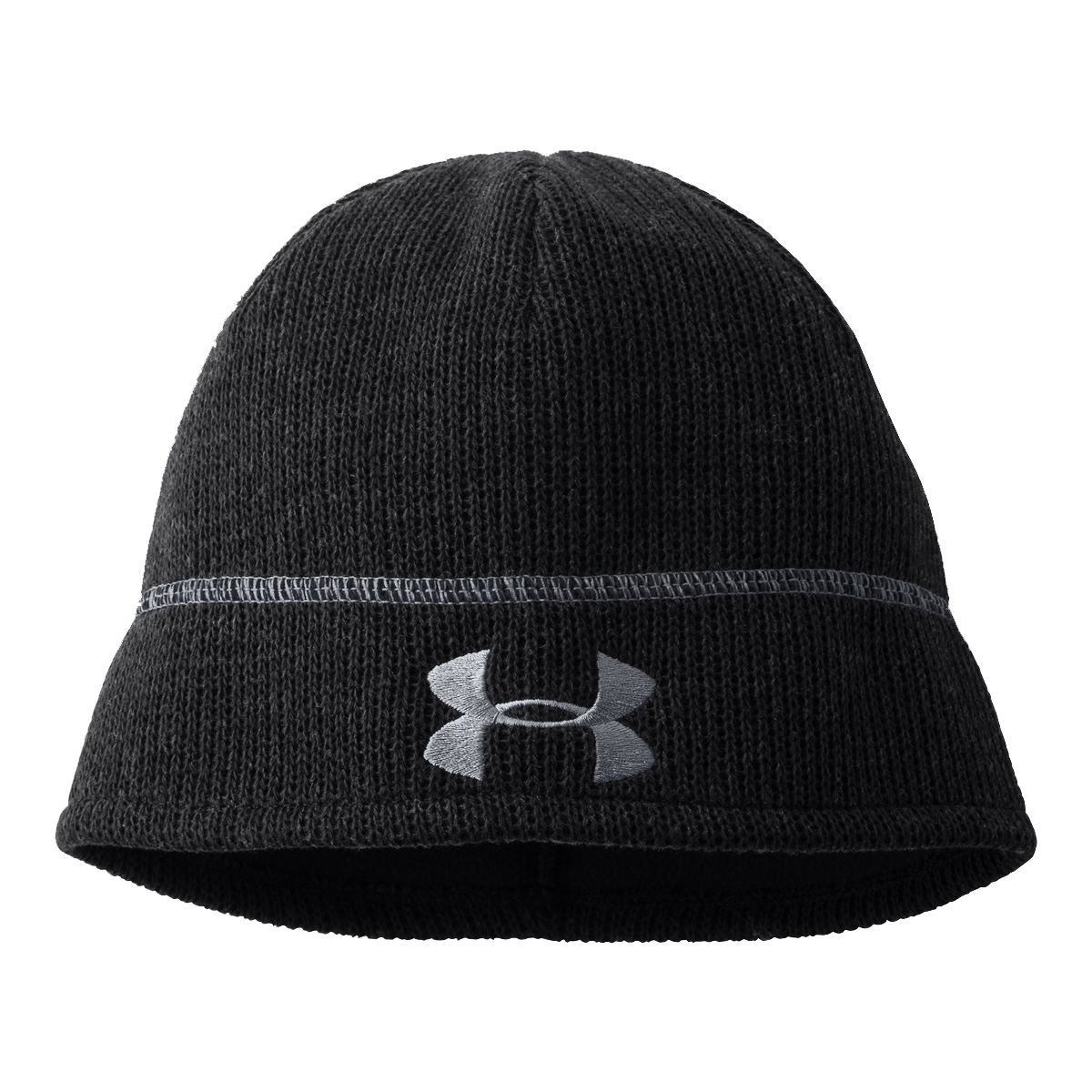 Image of Under Armour Watchman Beanie - Black   Steel 05eb6ffdc0b