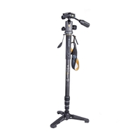 Vanguard VEO 2S CM-264TBP Carbon Monopod with Tri-Feet And VEO 2 BP-120 Ball/Pan Head