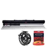 Vision 4 Piece Big Daddy 2.0 Pike Rod - 9ft #8 c/w  Vision Fisu Fly Reel #7/8 and Vision Grand Daddy Line WF8 - Floating