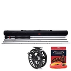 Vision 4 Piece Big Daddy 2.0 Pike Fly Rod - 9ft #9 c/w Vision Fisu Fly Reel #7/8 and Vision Grand Daddy Line WF9 - Intermediate