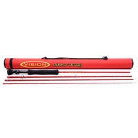 Vision 4 Piece Grand Daddy Pike Rod - EVA Handle - 9ft