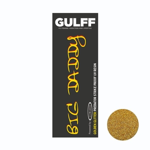Image of Vision Gulff Big Daddy Predator Resin - 15ml - Golden Glitter
