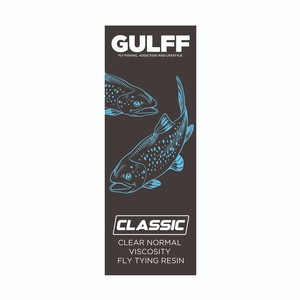 Image of Vision Gulff Classic Resin - 50ml - Clear