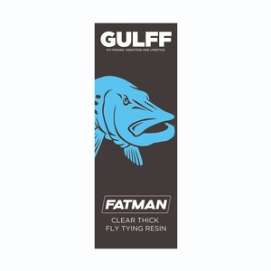 Image of Vision Gulff Fatman Resin - 50ml - Clear