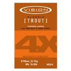 Vision Mono Classic Trout Leader - 9ft