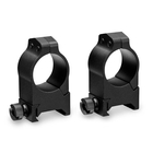 Vortex Pro 1 Inch Rings - 2 Piece - Picatinny/Weaver Fit - High