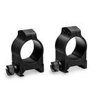 Vortex Pro 1 Inch Rings - 2 Piece - Picatinny/Weaver Fit - Low
