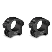 Vortex Pro Series 1 Inch Rings - Picatinny/Weaver Fit - Medium