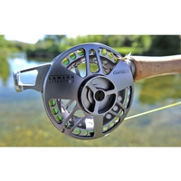 Waterworks Lamson 4 Piece Centre Axis Rod And Reel Combo 9ft