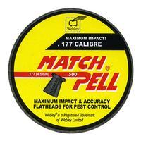 Webley Matchpell .177 Pellets x 500