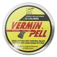 Webley Verminpell .22 Pellets x 500