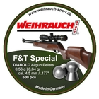 Image of Weihrauch Field Target Special .177 Pellets x 500