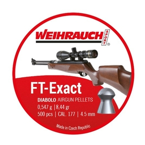 Image of Weihrauch FT Exact Pellets - .177 (4.51) x 500