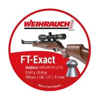 Weihrauch FT Exact Pellets - .177 (4.53) x 500