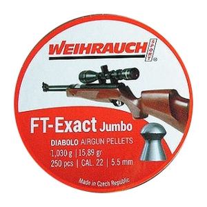 Image of Weihrauch FT Exact Jumbo Pellets - .22 x 250