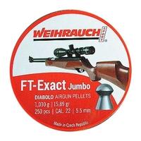 Weihrauch FT Exact Jumbo Pellets - .22 x 250