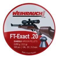 Weihrauch FT Exact Pellets - .20 x 500
