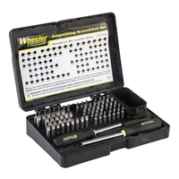 Wheeler Engineering Professional Gunsmith Screwdriver Set - 72 Pce
