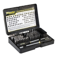 Wheeler Engineering Professional Gunsmith Screwdriver Set - 89 Pce