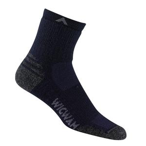 Image of Wigwam Merino Lite Mid-Crew Lightweight Socks - Navy