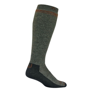 Image of Wigwam Merino Wilderness Midweight Over the Calf Socks - Olive
