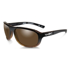 Image of Wiley X Ace Polarized Sunglasses - Polarized Bronze Lenses / Gloss Tortoise  Fade Frame