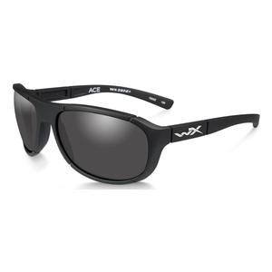 Image of Wiley X Ace Sunglasses - Smoke Grey Lenses/Matte Black Frame