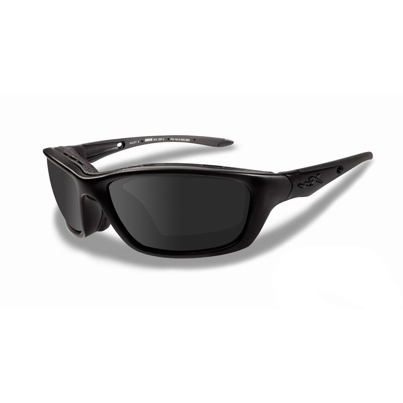 9414d3af198 Image of Wiley X Brick Black Ops Sunglasses - Smoke Grey   Matte Black