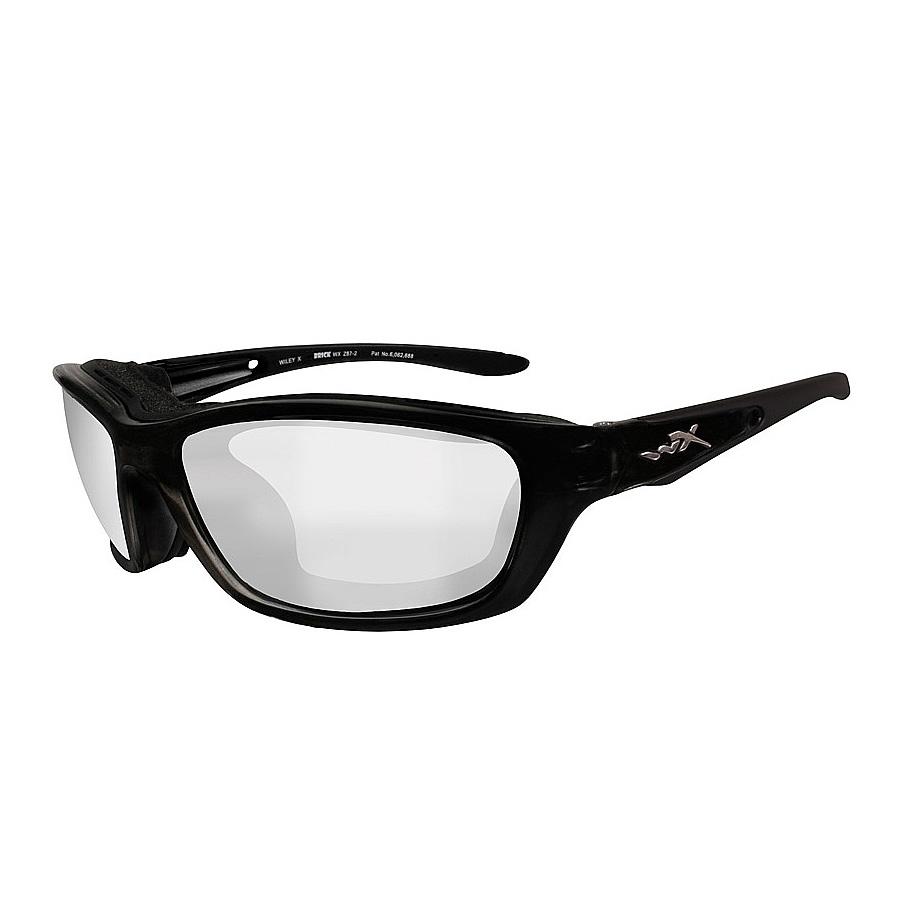 492adaeb2f3 Image of Wiley X Brick Sunglasses - Gloss Black   Clear