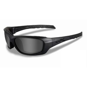 Image of Wiley X Gravity Black Ops Sunglasses - Smoke Grey  / Matt Black