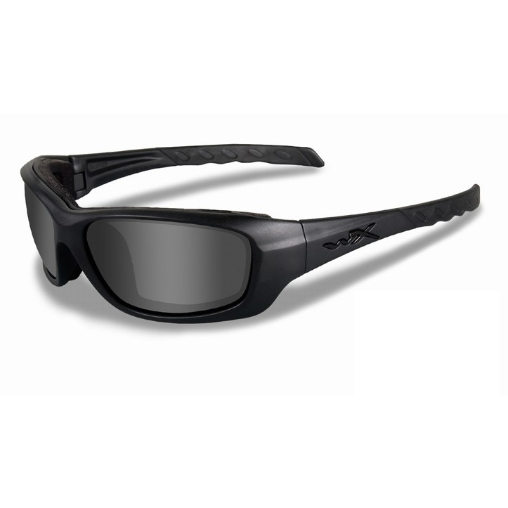 d54f11f7fa Image of Wiley X Gravity Black Ops Sunglasses - Smoke Grey   Matt Black