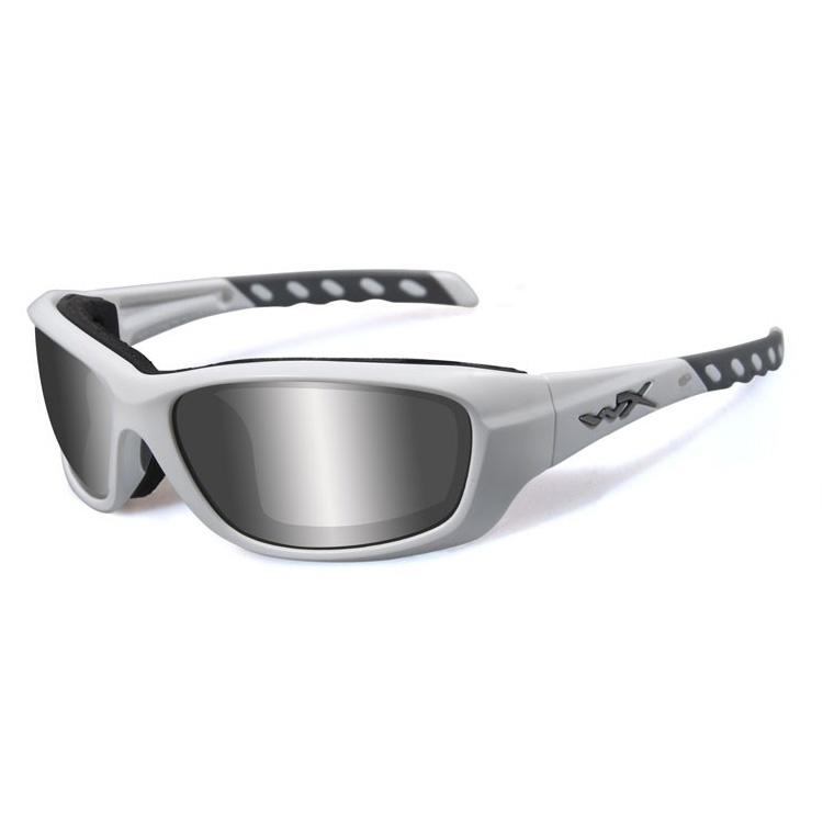 e14dd99364 Image of Wiley X Gravity Sunglasses - Matt White   Smoke Grey