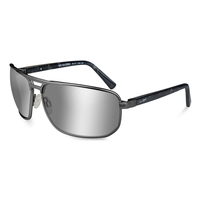 Wiley X Hayden Silver Flash Polarized Sunglasses