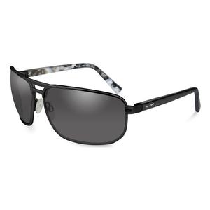 Image of Wiley X Hayden Sunglasses - Smoke Grey Lenses / Matte Black Frame