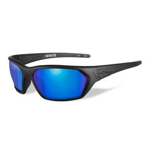 Image of Wiley X Ignite Polarized Sunglasses - Polarized Blue Mirror (Green) Lens/Matte