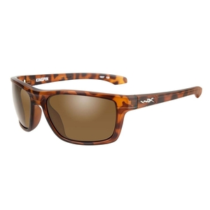 Image of Wiley X Kingpin Sunglasses - Brown Lenses/Matte Demi Frame