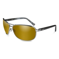 Wiley X Klein Gold Mirror Polarized Sunglasses
