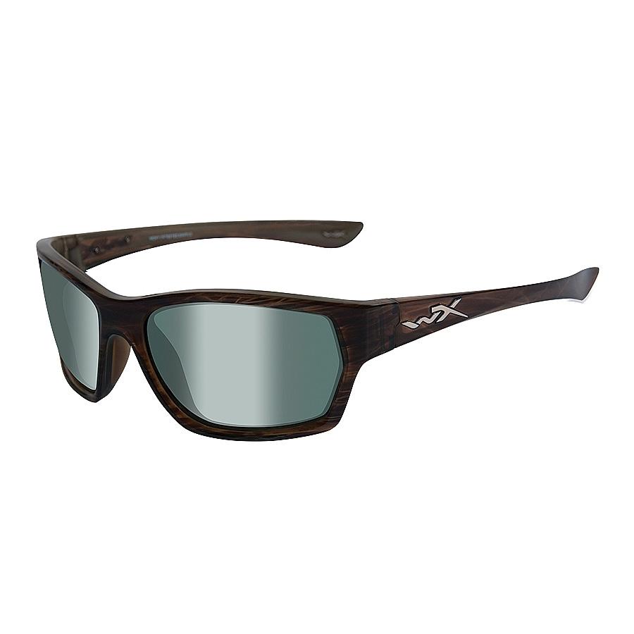 c8a71a173e54 Image of Wiley X Moxy Sunglasses - Olive Stripe / Polarized Platinum Flash