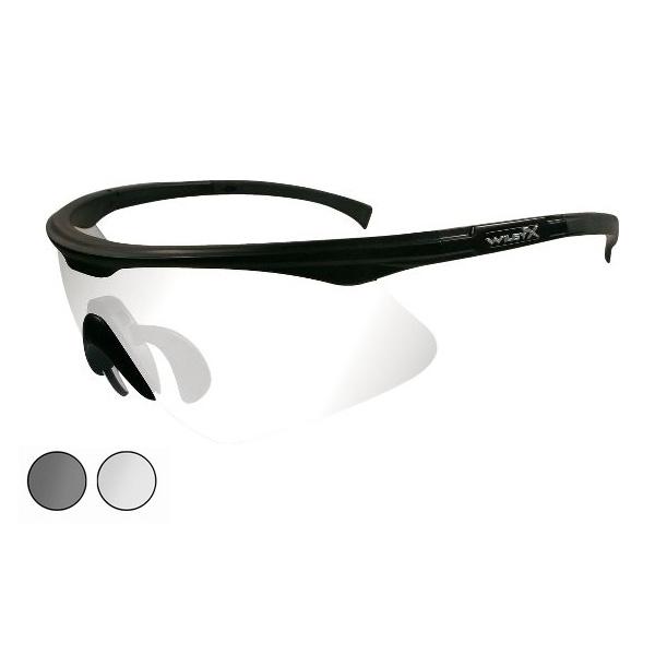 d50a42105bef Wiley X PT-1 Sunglasses - Smoke Grey & Clear / Matte Black | Uttings ...