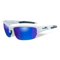 Wiley X Saint Blue Mirror Polarized Sunglasses