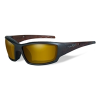 Wiley X Tide Gold Mirror Polarized Sunglasses